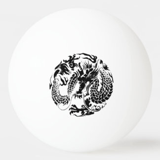Black Dragon Ping Pong Ball