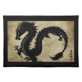 Black Dragon Placemat