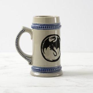 Black Dragon right-hand beer stein