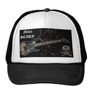 Black Dragon Skull Guitar Crossbones Baseball Hat