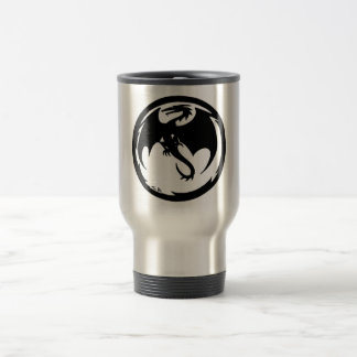 Black Dragon travel mug