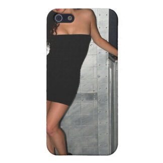 Black Dress Woman Case For iPhone 5