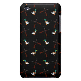 Black duck hunting pattern barely there iPod cases