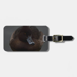 Black duck luggage tag