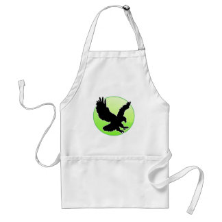 BLACK EAGLE GREEN CIRCLE PRODUCTS APRON