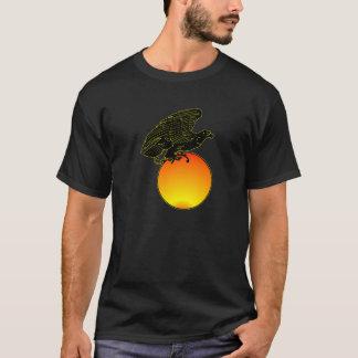 Black Eagle On Sun T-Shirt