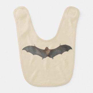Black-Eared Fox Bat Bib for Bat-Lovin' Babies