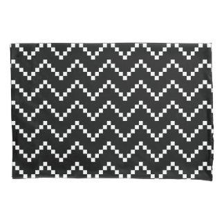 Black EB Zigzag Pillowcase