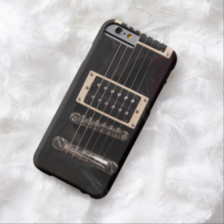 Black Electric Guitar Strings Barely There iPhone 6 Case