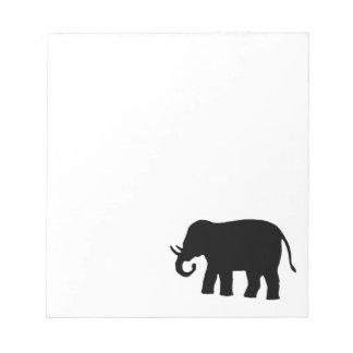 Black Elephant Notepads