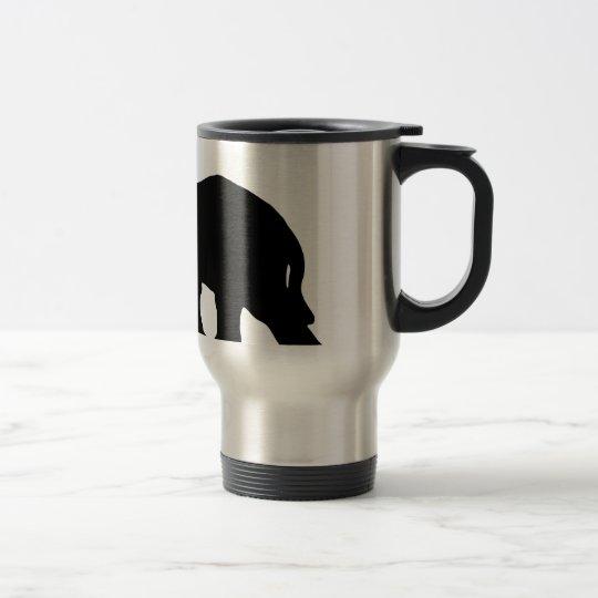 Black Elephant Travel Mug