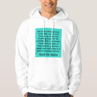Black Elk mens hoodie