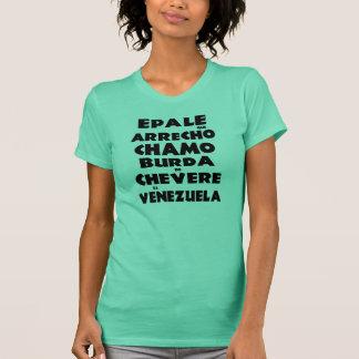 Black Epale flannel that arrecho chamo Venezuela T-Shirt