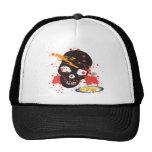 Black Epic Skull Hat
