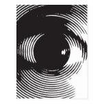 black eye post cards
