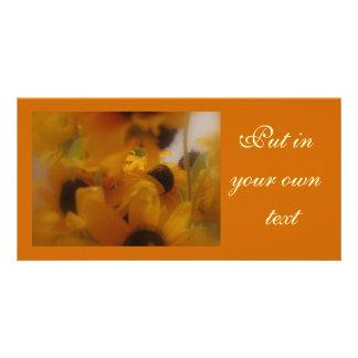 Black Eye Susans Gift Card Picture Card