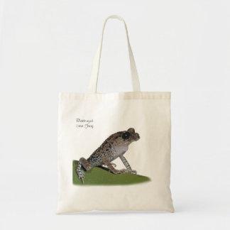 Black-eyed Litter Frog Tote Bag