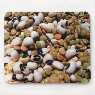 Black-Eyed Peas and Lentils Medley Mousepad