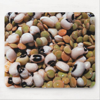 Black-Eyed Peas and Lentils Medley Mouse Pads