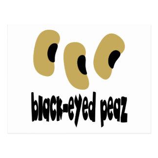 Black-Eyed Peaz Postcard