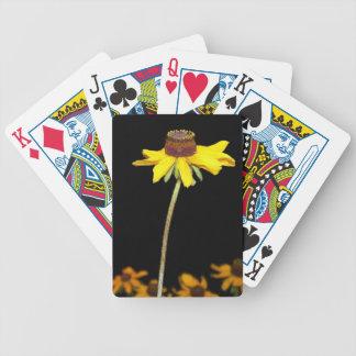 Black Eyed Susan Bicycle Playing Cards