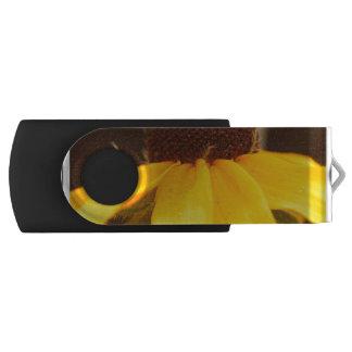 Black Eyed Susan Blossom Swivel USB 2.0 Flash Drive