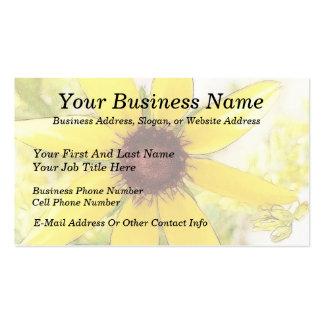 Black Eyed Susan Bouquet Business Cards