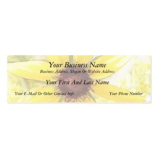 Black Eyed Susan Bouquet Business Card Template