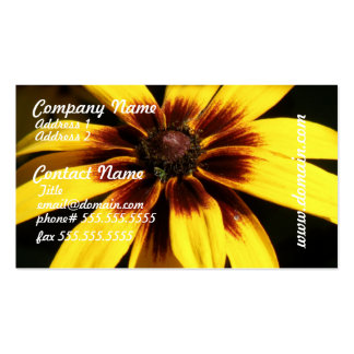 Black Eyed Susan Busines Card Business Card Templates
