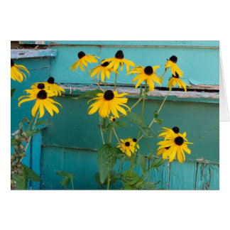 Black Eyed Susan Stationery Note Card