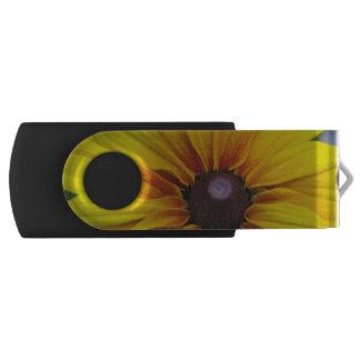 Black Eyed Susan Flower Swivel USB 2.0 Flash Drive