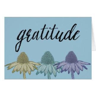 Black Eyed Susan Flowers Gratitude Greeting Card