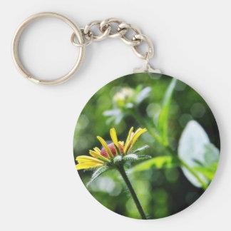 Black Eyed Susan Flowers Key Chain