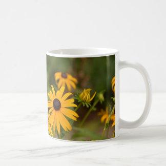 Black-Eyed Susan Basic White Mug