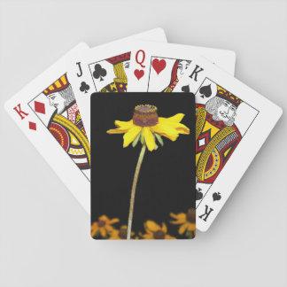 Black Eyed Susan Playing Card