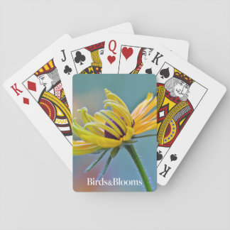 Black-eyed Susan Playing Cards
