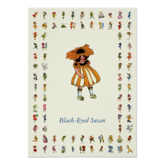 Black-Eyed Susan Poster