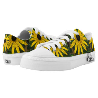 Black Eyed Susan shoes` Printed Shoes