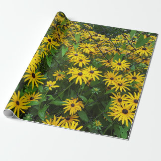 Black-eyed Susan Summer Wrapping Paper
