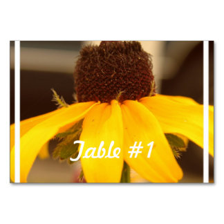 Black Eyed Susan Table Cards
