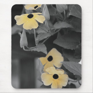 black eyed susan vine mouse pad