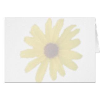 Black Eyed Susan Watermark Blank Card