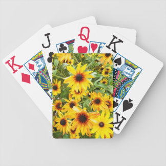 Black Eyed Susans Bicycle Playing Cards