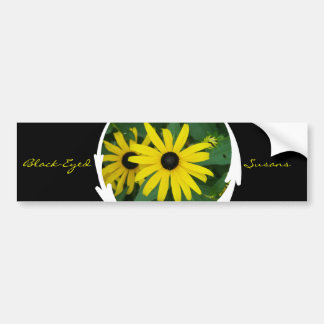 Black-Eyed Susans Bumper Sticker