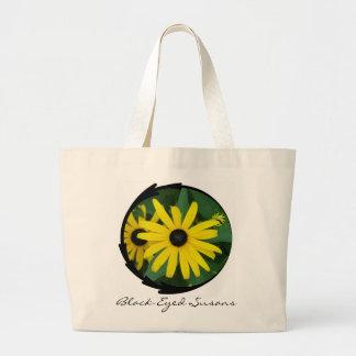 Black-Eyed Susans Jumbo Tote Bag