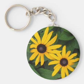 black-eyed Susans Keychain