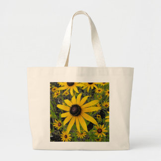Black Eyed Susans Large Tote Bag