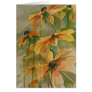 Black Eyed Susans Note Cards