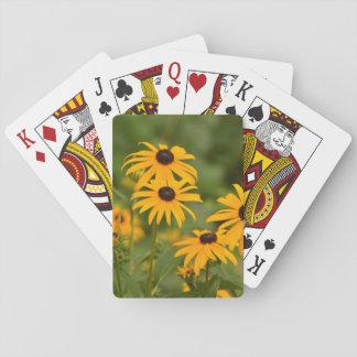 Black-Eyed Susans Poker Cards