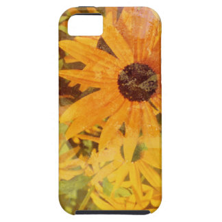 Black Eyed Susan's Wildflower Abstract Design Tough iPhone 5 Case